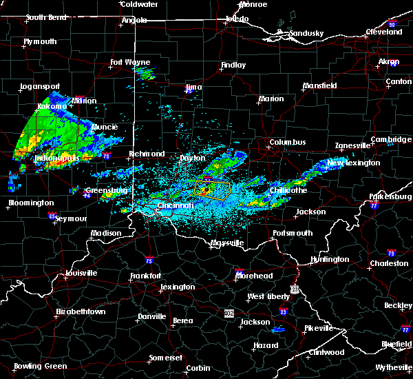 Radar Image for Severe Thunderstorms near Clarksville, OH at 5/30/2019 10:35 PM EDT
