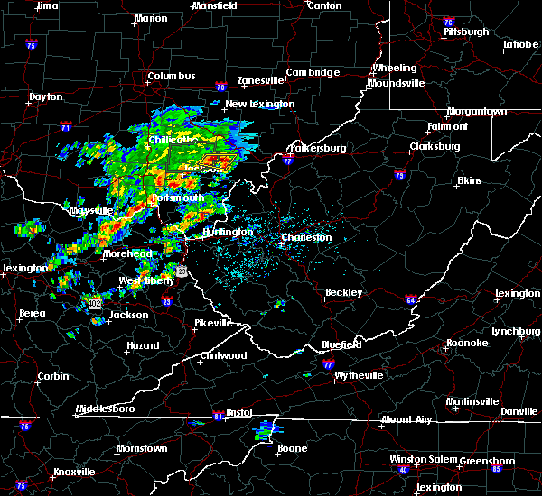 Radar Image for Severe Thunderstorms near Albany, OH at 5/31/2019 11:33 AM EDT