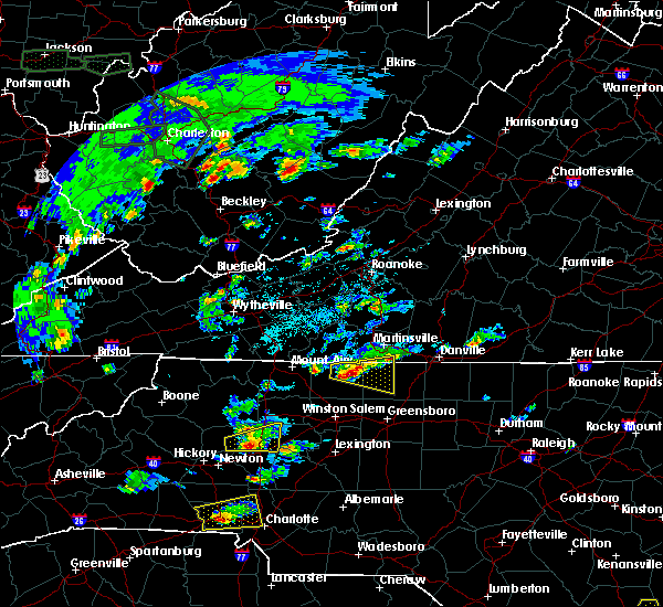 Radar Image for Severe Thunderstorms near Statesville, NC at 5/31/2019 2:54 PM EDT
