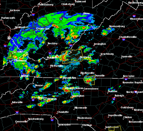 Radar Image for Severe Thunderstorms near Elkin, NC at 5/31/2019 3:52 PM EDT