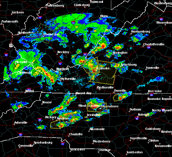 Radar Image for Severe Thunderstorms near Union Hall, VA at 5/31/2019 4:42 PM EDT