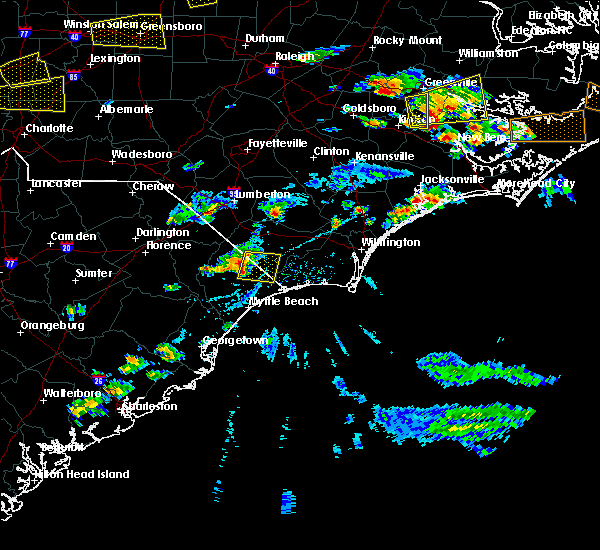 Radar Image for Severe Thunderstorms near Loris, SC at 5/31/2019 4:43 PM EDT