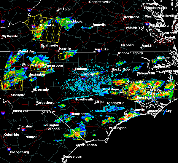 Radar Image for Severe Thunderstorms near Momeyer, NC at 5/31/2019 4:48 PM EDT