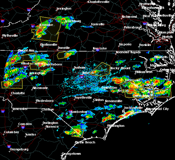 Radar Image for Severe Thunderstorms near Grimesland, NC at 5/31/2019 4:54 PM EDT