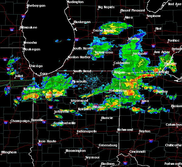 Radar Image for Severe Thunderstorms near Star City, IN at 6/15/2015 4:35 PM EDT