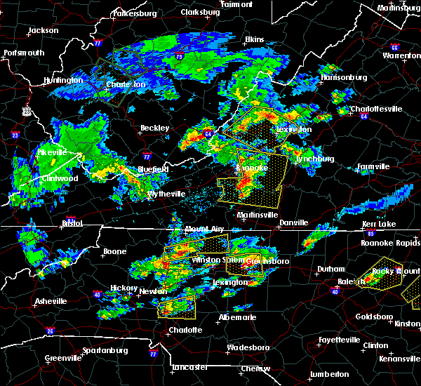Radar Image for Severe Thunderstorms near Middlebrook, VA at 5/31/2019 5:05 PM EDT