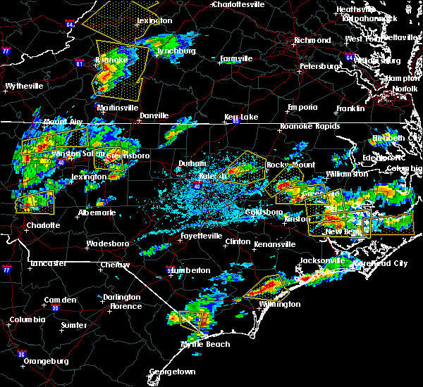 Radar Image for Severe Thunderstorms near Momeyer, NC at 5/31/2019 5:10 PM EDT