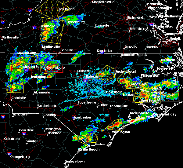 Radar Image for Severe Thunderstorms near Speed, NC at 5/31/2019 5:13 PM EDT