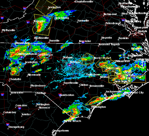 Radar Image for Severe Thunderstorms near Concord, NC at 5/31/2019 5:25 PM EDT
