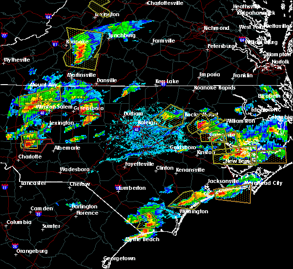 Radar Image for Severe Thunderstorms near Momeyer, NC at 5/31/2019 5:26 PM EDT
