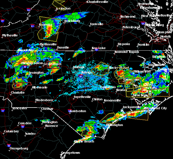 Radar Image for Severe Thunderstorms near Saxapahaw, NC at 5/31/2019 5:31 PM EDT