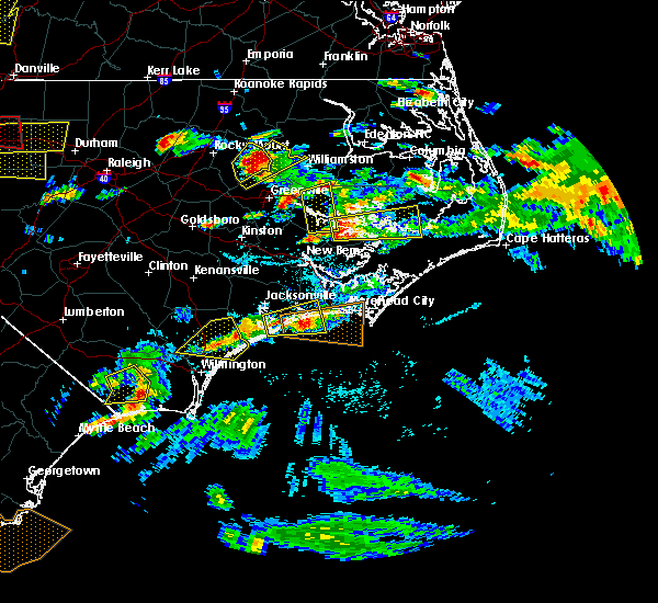 Radar Image for Severe Thunderstorms near Bayview, NC at 5/31/2019 5:33 PM EDT