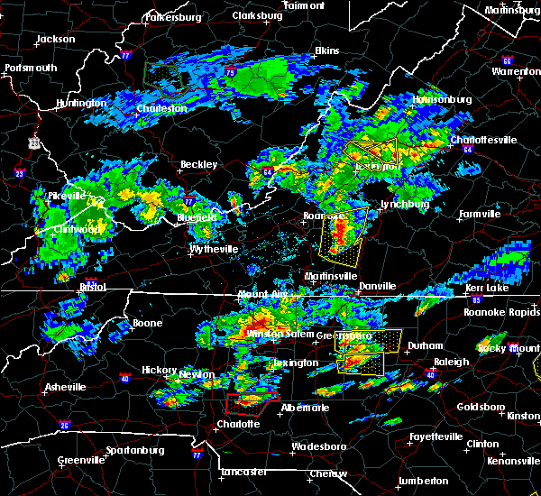 Radar Image for Severe Thunderstorms near Middlebrook, VA at 5/31/2019 5:38 PM EDT