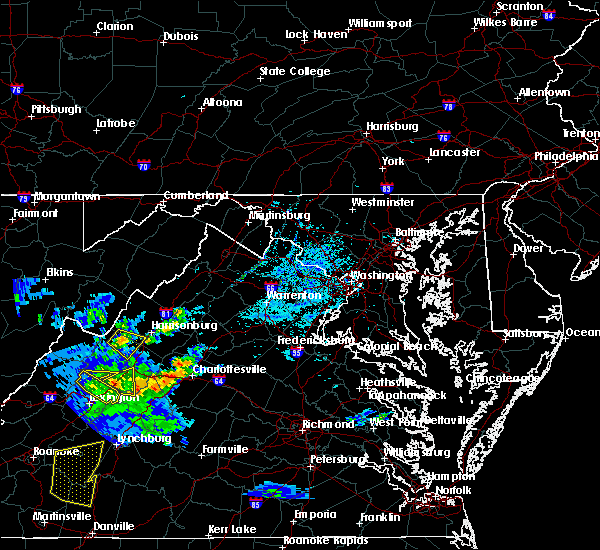 Radar Image for Severe Thunderstorms near Harrisonburg, VA at 5/31/2019 5:43 PM EDT