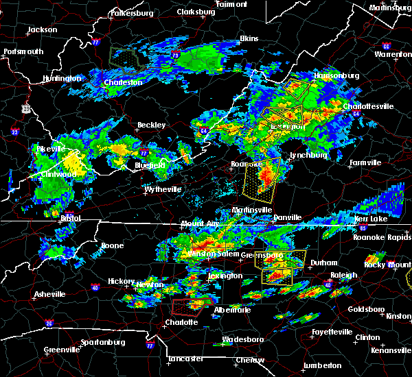 Radar Image for Severe Thunderstorms near Timberlake, VA at 5/31/2019 5:45 PM EDT