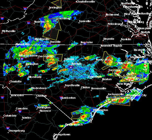 Radar Image for Severe Thunderstorms near Saxapahaw, NC at 5/31/2019 5:47 PM EDT