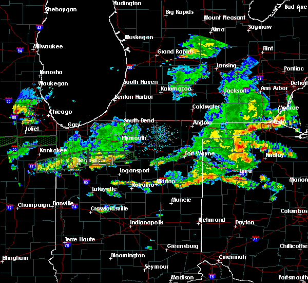 Radar Image for Severe Thunderstorms near Star City, IN at 6/15/2015 5:10 PM EDT