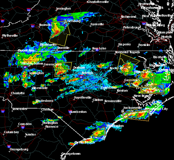 Radar Image for Severe Thunderstorms near Saxapahaw, NC at 5/31/2019 5:56 PM EDT