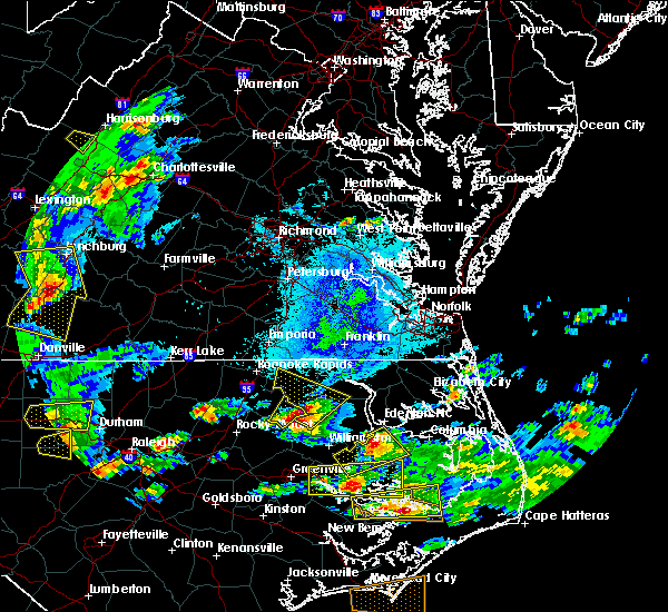 Radar Image for Severe Thunderstorms near Scotland Neck, NC at 5/31/2019 6:03 PM EDT