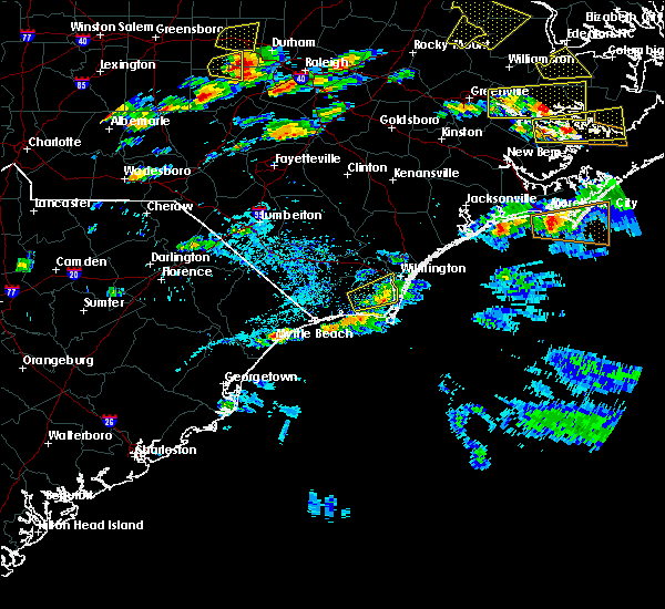 Radar Image for Severe Thunderstorms near Myrtle Beach, SC at 5/31/2019 6:08 PM EDT