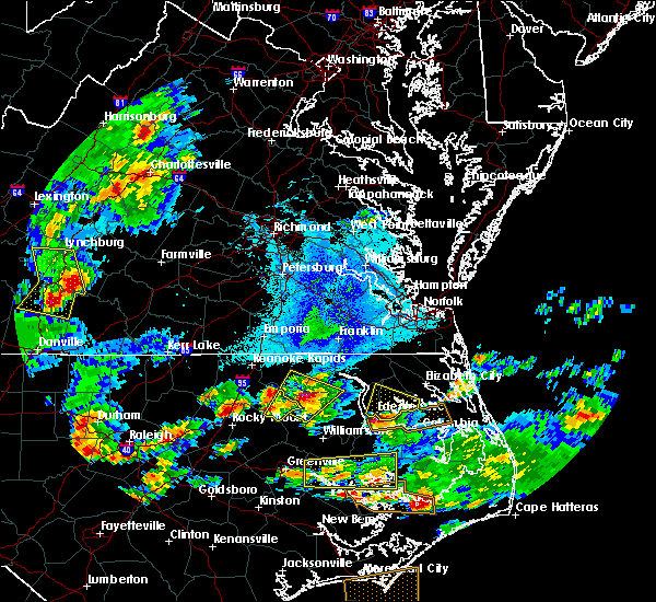 Radar Image for Severe Thunderstorms near Halifax, NC at 5/31/2019 6:21 PM EDT