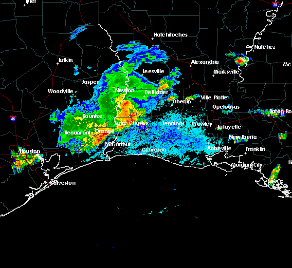Radar Image for Severe Thunderstorms near Lake Charles, LA at 5/31/2019 5:23 PM CDT