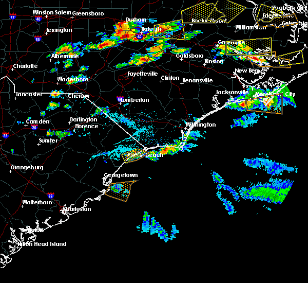 Radar Image for Severe Thunderstorms near Myrtle Beach, SC at 5/31/2019 6:25 PM EDT