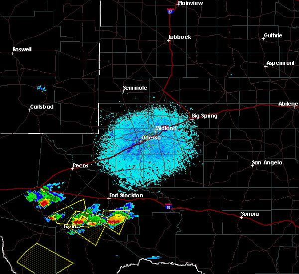 Radar Image for Severe Thunderstorms near Marathon, TX at 5/31/2019 5:31 PM CDT