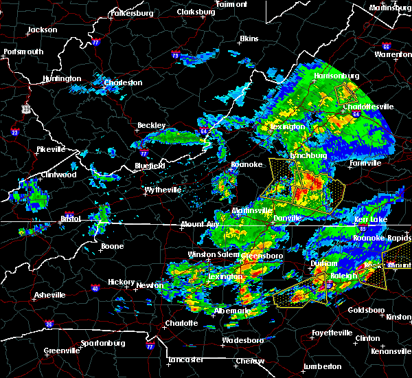 Radar Image for Severe Thunderstorms near Nathalie, VA at 5/31/2019 6:49 PM EDT