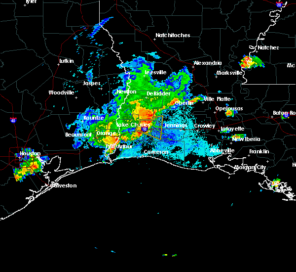 Radar Image for Severe Thunderstorms near Lake Charles, LA at 5/31/2019 5:51 PM CDT