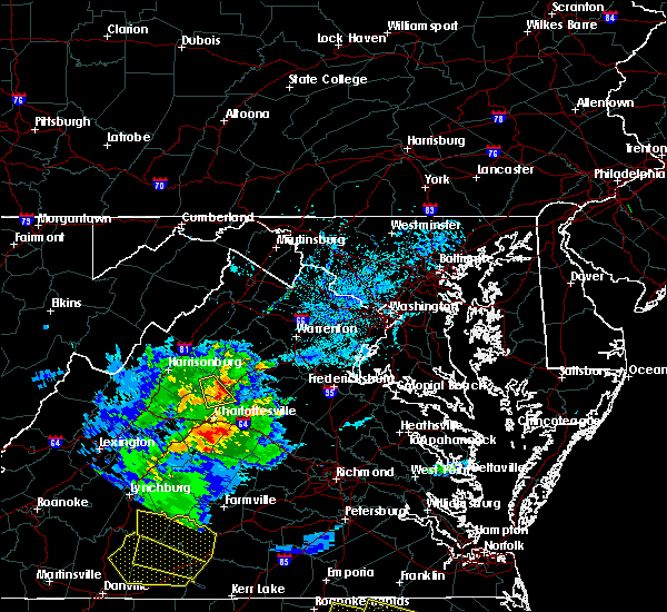 Radar Image for Severe Thunderstorms near Twin Lakes, VA at 5/31/2019 6:54 PM EDT
