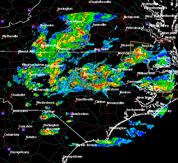 Radar Image for Severe Thunderstorms near Clayton, NC at 5/31/2019 7:05 PM EDT