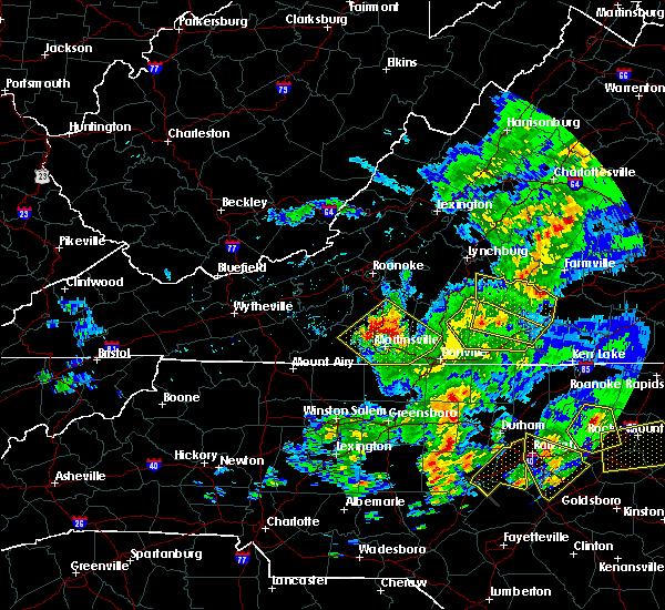 Radar Image for Severe Thunderstorms near Chatmoss, VA at 5/31/2019 7:20 PM EDT