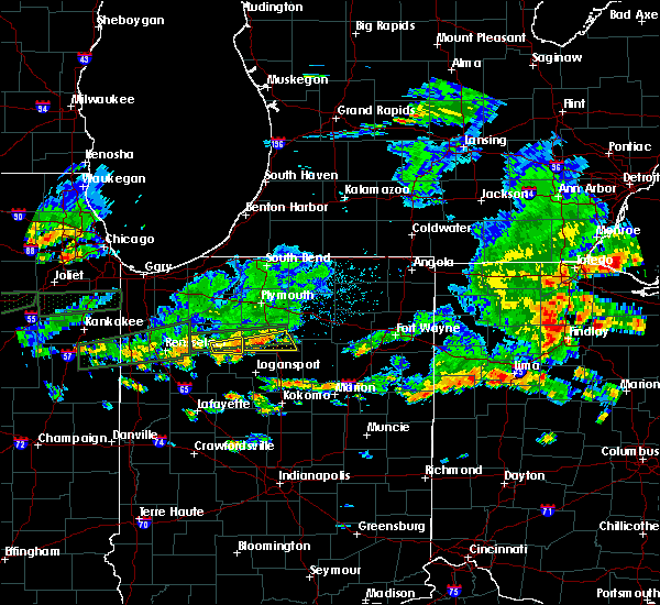 Radar Image for Severe Thunderstorms near Macy, IN at 6/15/2015 5:29 PM EDT