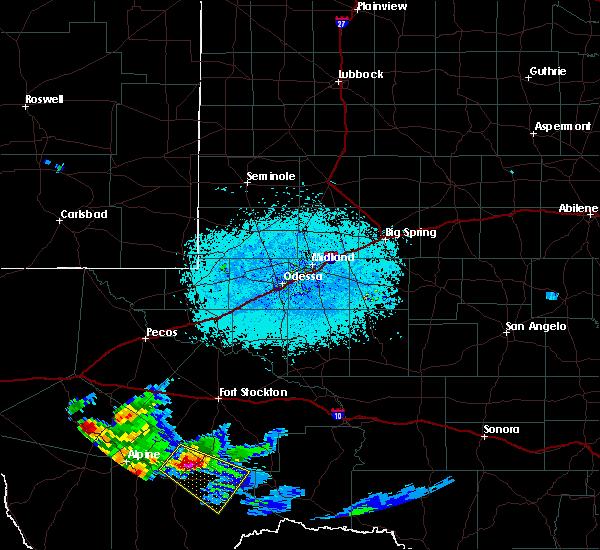 Radar Image for Severe Thunderstorms near Marathon, TX at 5/31/2019 6:57 PM CDT