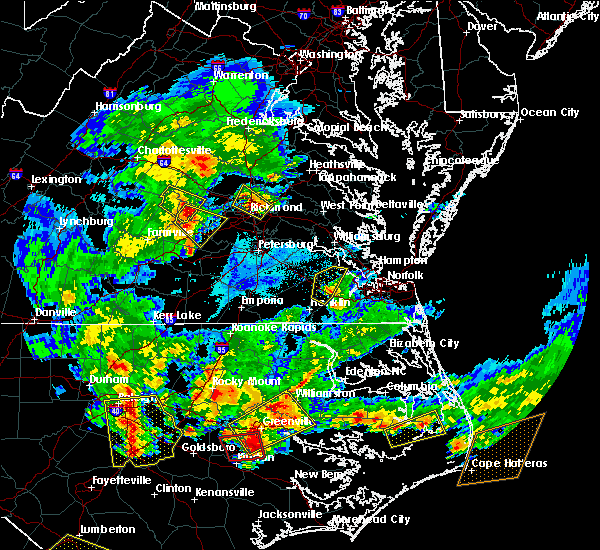Radar Image for Severe Thunderstorms near Windsor, VA at 5/31/2019 8:25 PM EDT