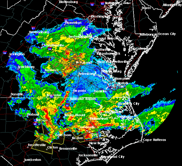Radar Image for Severe Thunderstorms near Wyndham, VA at 5/31/2019 8:55 PM EDT