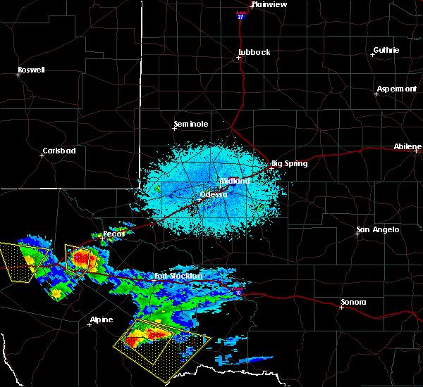 Radar Image for Severe Thunderstorms near Marathon, TX at 5/31/2019 8:31 PM CDT