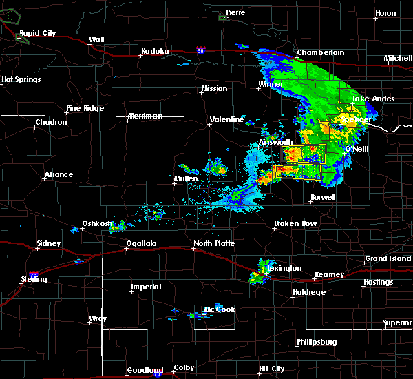 Radar Image for Severe Thunderstorms near Atkinson, NE at 5/31/2019 9:44 PM CDT
