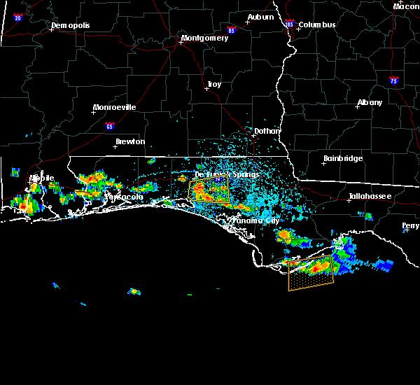 Radar Image for Severe Thunderstorms near Ponce de Leon, FL at 6/1/2019 1:27 PM CDT
