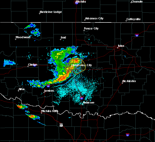 Radar Image for Severe Thunderstorms near Jones, OK at 6/1/2019 2:00 PM CDT
