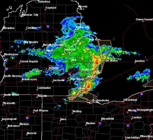 Radar Image for Severe Thunderstorms near Rocky Ridge, OH at 6/1/2019 3:11 PM EDT