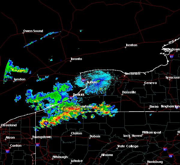 Radar Image for Severe Thunderstorms near Panama, NY at 6/1/2019 3:40 PM EDT