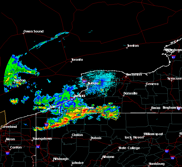 Radar Image for Severe Thunderstorms near Portville, NY at 6/1/2019 4:03 PM EDT