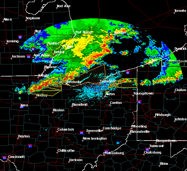 Radar Image for Severe Thunderstorms near Custar, OH at 6/1/2019 4:26 PM EDT