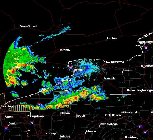 Radar Image for Severe Thunderstorms near Portville, NY at 6/1/2019 4:42 PM EDT