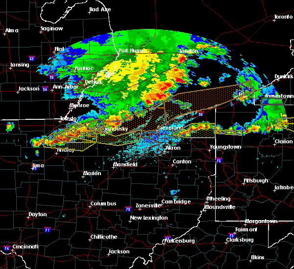 Radar Image for Severe Thunderstorms near Oberlin, OH at 6/1/2019 4:45 PM EDT