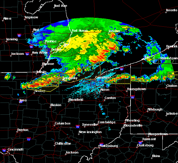 Radar Image for Severe Thunderstorms near Jerry City, OH at 6/1/2019 4:49 PM EDT