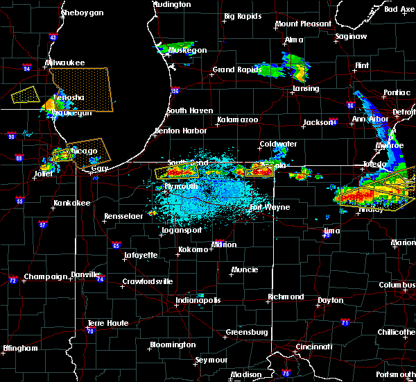 Radar Image for Severe Thunderstorms near West Unity, OH at 6/1/2019 4:54 PM EDT