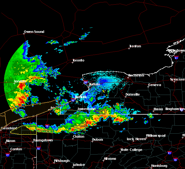 Radar Image for Severe Thunderstorms near Portville, NY at 6/1/2019 4:55 PM EDT